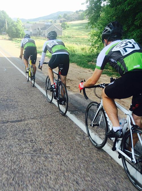 CI Team on Bikes